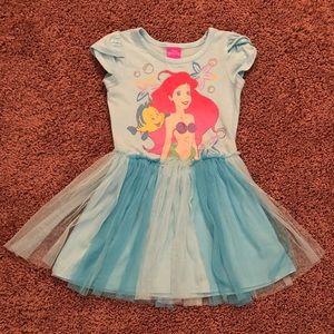 🧜♀️Little Mermaid🧜♀️Girl's Tulle Dress 4T